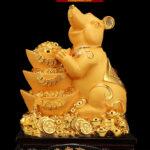Chuột Vàng Phong Thủy