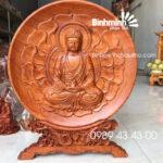 Dĩa Gỗ Phật